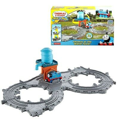 Thomas ei suoi Amici - Water Tower Starter Set Take-n-Play - Mattel Thomas and F