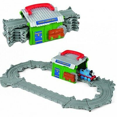 Thomas ei suoi Amici - Segheria Starter Set Take-n-Play - Mattel Thomas and Frie