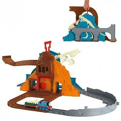Thomas ei suoi Amici - Dino Adventure Play Set Take-n-Play - Mattel Thomas and F