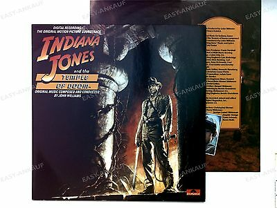 John Williams - Indiana Jones And The Temple Of Doom (OST) GER LP 1984 + OIS //6