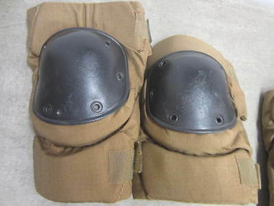 Bijan's Military Issue Knee Pads Coyote Brown Size Large Excellent