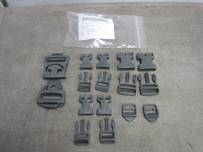 Army Foliage Green Acu Molle Repair Buckle Set For Rucksack & Assault Pack