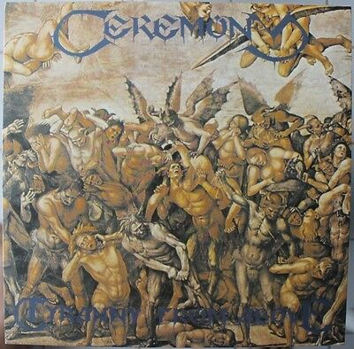 CEREMONY Tyranny From Above LP DEATH METAL 1993 BRAZIL ONLY VINYL NM/NM
