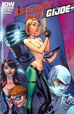 IDW comics: DANGER GIRL G.I. JOE # 5 , Cover A
