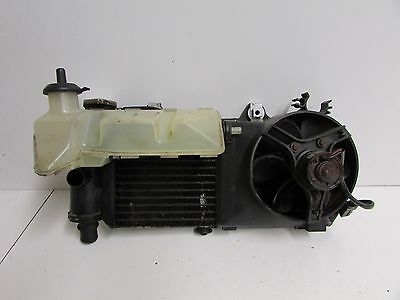 BMW F650 CS 2001 2002 2003 2004 2005 Radiator Complete with Fan and Coolant Tank