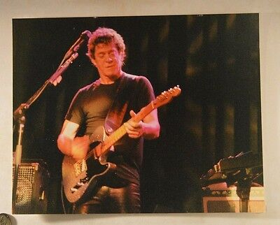 lou reed    11 x 14 color photo