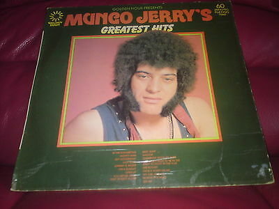 Mungo Jerrys Greatest Hits, Long Playing Vynil Record Good Condition 1974