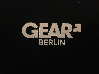 Gear Berlin Men's Recycle T-shirt Large Gay Adult Leather Fetish Yellow RoB