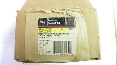 General Electric #THAUX64D Auxiliary Contact Switch New 3/1/2A