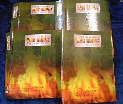 * 1-67 THE CLASSIC WAR MOVIE COLLECTION by DE AGOSTINI * UK FREE POST* PB