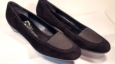 Women's Salvatore Ferragamo Black Pumps or Loafers, Made in Italy, Size 9