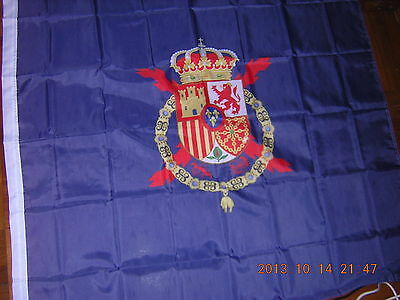 Royal Standard of Spain Estandarte Real Estandarte del Rey 1977-2014 Ensign Flag