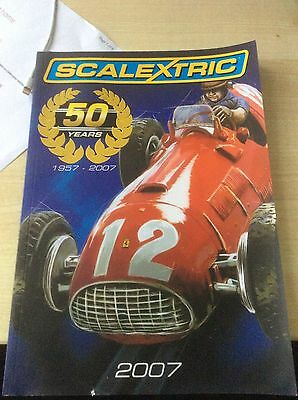 SCALEXTRIC MODEL MOTOR RACING CATALOGUE 50th ANNIVERSARY  EDITION 2007
