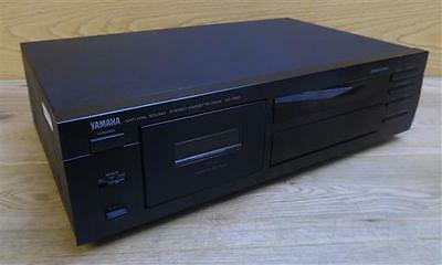 Yamaha KX-580 Natural Sound Stereo Single Cassette Tape Deck Recorder Black
