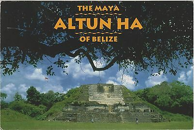 The Maya Ruins Altun Ha of Belize north of Belize City formerly British Honduras