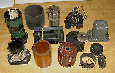 Job Lot Of Vintage Radio Coils And Formers