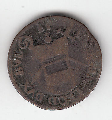 Vatican-Papal States C1750 Copper     180R                   By Coinmountain
