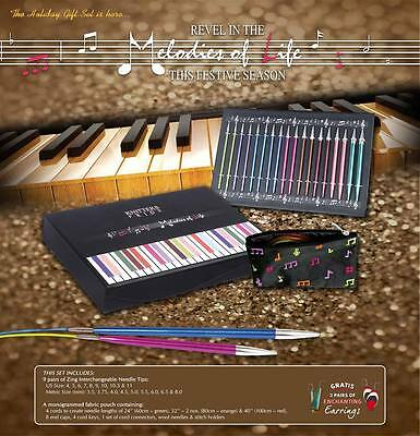 """Knitter's Pride Melodies Of Life """"Zing"""" Interchangeable Needle Set 400001"""