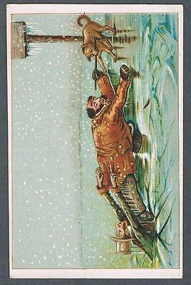 Original 1900's Victorian Montreal Gendron Co. Bicycles & Tricycles Trade Card