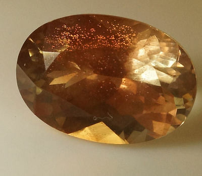 BEAUTIFUL OREGON SUNSTONE!, 13.5x9.5 mms,