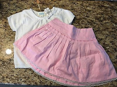 Girls top and skirt size 4t Spring & Summer Easter The Children's place NWT
