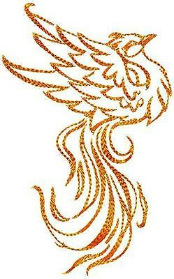 Fantasy Birds 10 Machine Embroidery Designs Cd Mixed Sizes