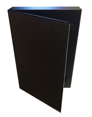 Case of 10 Max1.5 inch Black Comic Book Stor-Folio Storage Boxes portfolio box