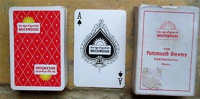 Brickwoods Portsmouth Brewery Full Pack  Playing Cards