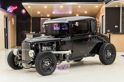 1930 Ford Model A  All Steel, Custom Coupe! Ford 331ci Stroker V8, C4 Automatic, Disc, Documented!