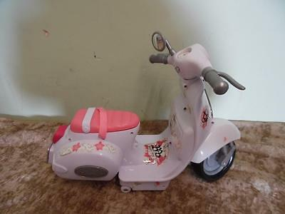 Zapf Creation Baby Born White Moped With Sounds And Lights !