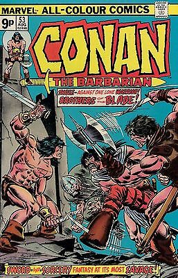 CONAN THE BARBARIAN # 53  ROY THOMAS  vf-