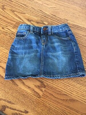 Baby Gap 1969 Denim Girls mini skirt - size 5