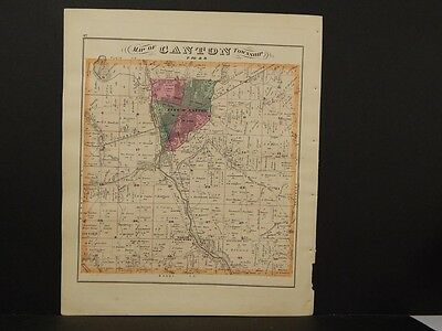 Ohio Stark County maps, Canton Township, 1875  Double Sided J3#82