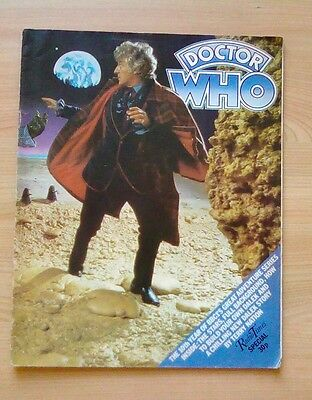 Doctor Who Radio Times 10Th Anniversary Special Edition 1973 Magazine