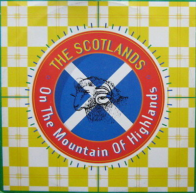 The Scotlands On The Mountain Of Highlands Vinyl Single 12inch Intercord