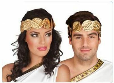 Roman/Greek Themed Laurel Gold Leaf Headband Fancy Dress Headpiece