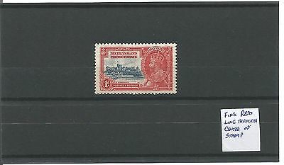 Bechuanaland - 1935 Jubilee with Print Flaw - Mint
