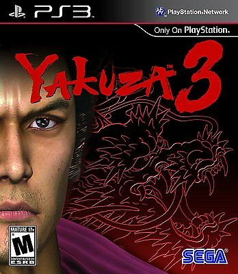 Yakuza 3 [PlayStation 3 PS3, Exclusive Tokyo Crime Syndicates, Action] Brand NEW