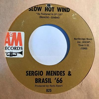 "Sergio Mendes & Brasil 66 - Constant Rain / Slow Hot Wind USA 7"" NM"