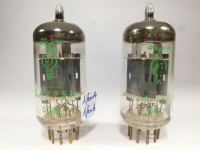 one pair 12AX7SH ECC803S RT FRS double stage getter code tested in U61C analyser
