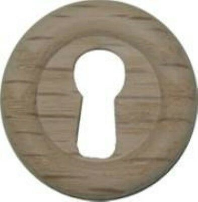 """Round Oak Small Keyhole Cover 1.062"""" - 1-1/16ths Inch Diameter vintage antique"""