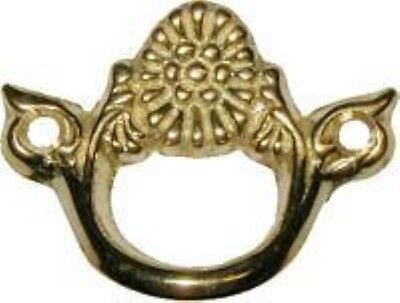 Cast Brass Victorian Style Finger Pull Keyhole vintage antique old new restore