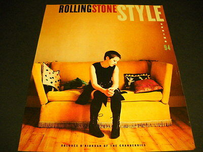 CRANBERRIES Dolores O'Riordan does it Rolling Stone style 1994 PROMO ADVERT mint