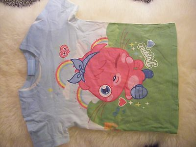 Sweet Millie - Girls Moshi Monster 'Poppet' T Shirt - Age 7 - 8 Years