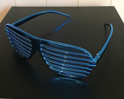 WWE Metallic Blue Sasha Banks 'Legit Boss' Sunglasses *WWE Loot Crate Exclusive*