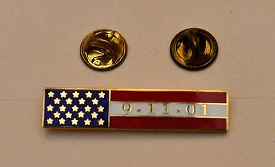 9/11/2001 Commendation Ribbons Fire EMS Police - Set of 2 Ribbons