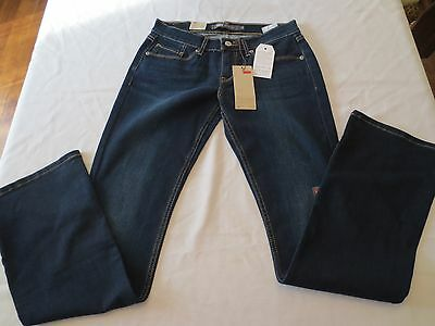 Nwt Levis 524 Bootcut Northpeak Ultra Low Rise Slim Fit Jeans Womens Size 15M