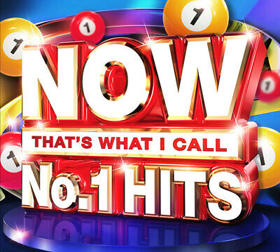 Various Artists : Now That's What I Call No. 1 Hits CD (2016)