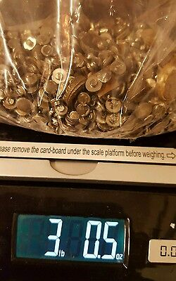3 lbs Pounds Scrap Silver Contacts 48 oz. for Recovery