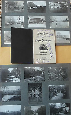Good    WW I  German  Soldiers 37 Original  Old  Albumphotos + Book from same